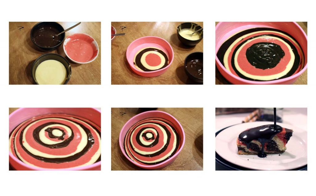 Zebrakuchen- Step by Step